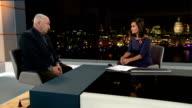 Big Issue founder criticises Ed MIliband for giving money to street beggar ENGLAND London GIR INT John Bird LIVE interview SOT