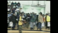 Big L performance with DJ Kid Capri at a celebrity basketball game in 1995