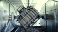 Big plastic moulding machine