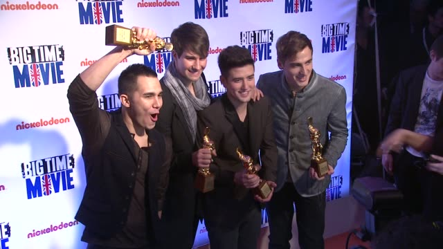 'Big Time Movie' Starring Big Time Rush Original TV Movie Premiere and Nickelodeon Meet Greet on 3/8/2012 in New York NY United States