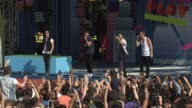 PERFORMANCE Big Time Rush at Nickelodeon's 10 Annual Worldwide Day of Play Celebration More Than 50000 Kids And Families Join Brook Lopez Ariana...