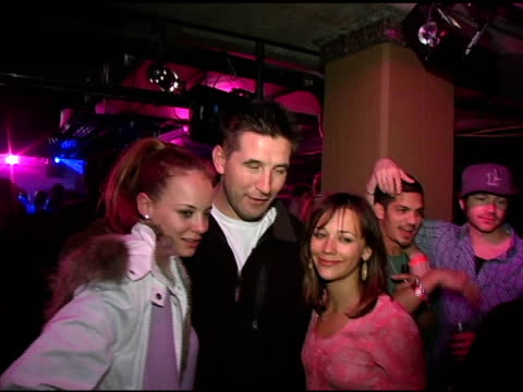 Bijou Phillips Billy Baldwin and guest at the Motorola's 2nd Annual Late Night Lounge at Motorola Lodge in Park City Utah on January 23 2005