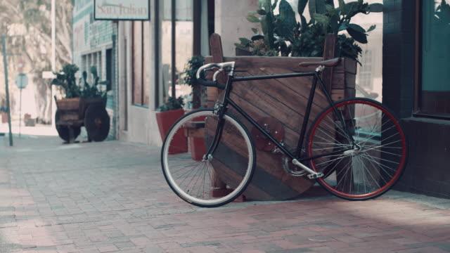Fahrrad in urbanen Ambiente