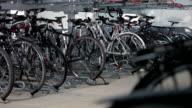 Bicicletta di bloccaggio