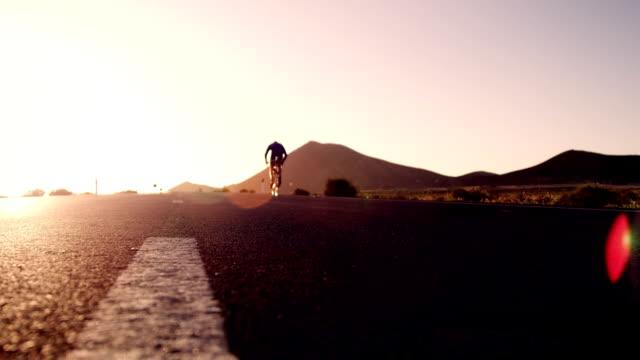 Biker on street