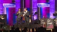 Bill Bellamy Bob Saget auction at the Scleroderma Research Foundation's 'Cool Comedy Hot Cuisine' at Beverly Hills CA