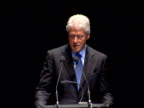 Bill Clinton delivering Royal Albert Hall speech You are living in a world that is unsustainable which has less inequality and more wage growth than...