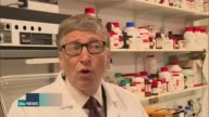 Bill Gates and George Osborne pledge 3 billion pounds to help fight against Malaria Bill Gates interview SOT Country by country we'll cut down the...