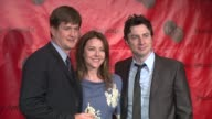 Bill Lawrence Christa Miller and Zach Braff at the 66th Annual Peabody Awards press room at Waldorf Astoria in New York New York on June 4 2007