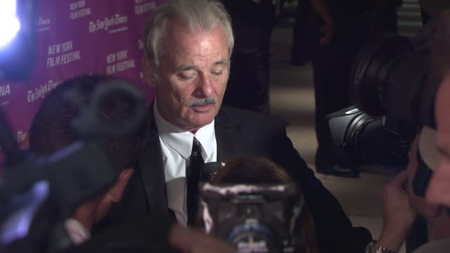 Bill Murray at the New York Film Festival 'The Darjeeling Limited' Premiere Opening Night at Film Society of Lincoln Center in New York New York on...