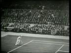 Bill Tilden defeats Karel Kozeluh in Tilden's first professional tennis match