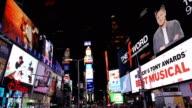 Billboard Advertisements, Times Square, New York City