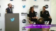 Billboard Music Awards Finalist Announcement Press Conference at Twitter on April 07 2015 in Santa Monica California