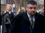 Juliet Peters on trial ITN ENGLAND London Pop singer Billie Piper arriving at court to give evidence against woman accused of threatening her PAN