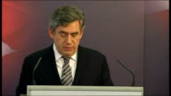 Gordon Brown speech on immigration Gordon Brown speech continued SOT As the economy recovers we need to do more to ensure that people with low skills...