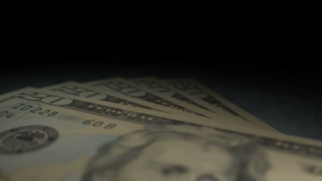 $20 Bills Multi-Perspective Fly Overs (1080/30P)