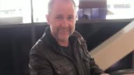 INTERVIEW Billy Boyd talks about Amelia Earhart being found on an island while departing at LAX Airport in Los Angeles in Celebrity Sightings in Los...