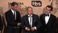 INTERVIEW Billy Crudup Brian d'Arcy James Mark Ruffalo Rachel McAdams John Slattery Michael Keaton Liev Schreiber at 22nd Annual Screen Actors Guild...