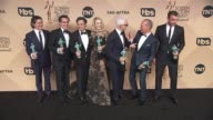 Billy Crudup Brian d'arcy James Mark Ruffalo Rachel McAdams John Slattery Michael Keaton and Liev Schreiber at the 22nd Annual Screen Actors Guild...