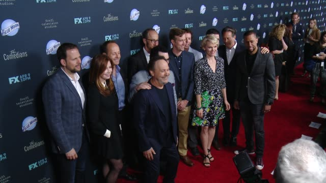 Billy Crystal Josh Gad Dana Delany Affion Crockett Ben Wexler Stephnie Weir Matt Nix Steven Weber and Matt Oberg at 'The Comedians' Los Angeles...