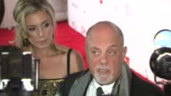 Billy Joel and Alexis Roderick at Elton John AIDS Foundation's 12th Annual 'An Enduring Vision' Benefit on in New York NY