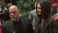 Billy Joel on coming out for the premiere his projects and his daughter Alexa Rae Joel at the 'Entourage' Fourth Season Premiere at Ziegfeld Theatre...