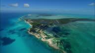 AERIAL Bimini island, Bahamas