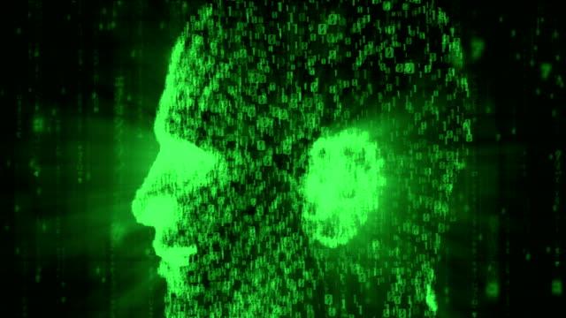 Binary Head Loop in green