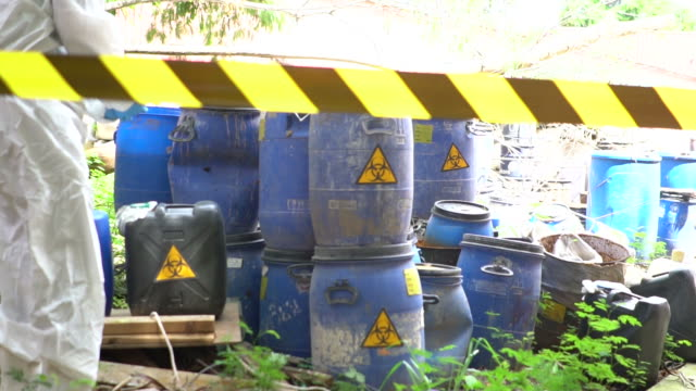 Biohazard barrel