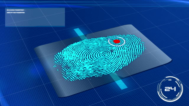 Biometric Fingerprint Scan Rejected