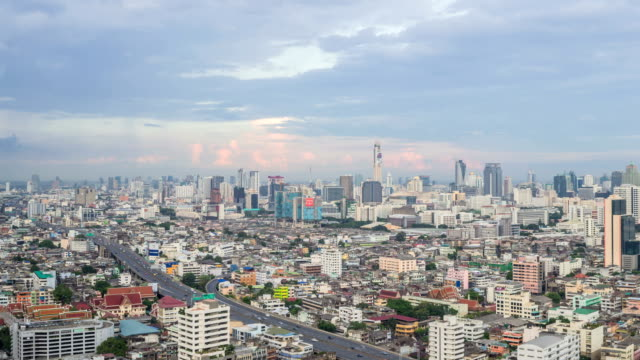 Uccello occhio vista della città di Bangkok