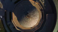 Bird's eye close up of Adler Planetarium dome