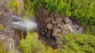 4K Bird's Eye view of Fitzroy Falls, New South Wales, Australia