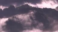 Bird's-eye view: Sea of clouds amid the mountains in the Ryogo-uchi area, Shizuoka, Japan