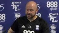 Birmingham City caretaker manager Lee Carsley speaks to media ahead of his side's Championship fixture at Derby on Saturday Carsley is standing in...