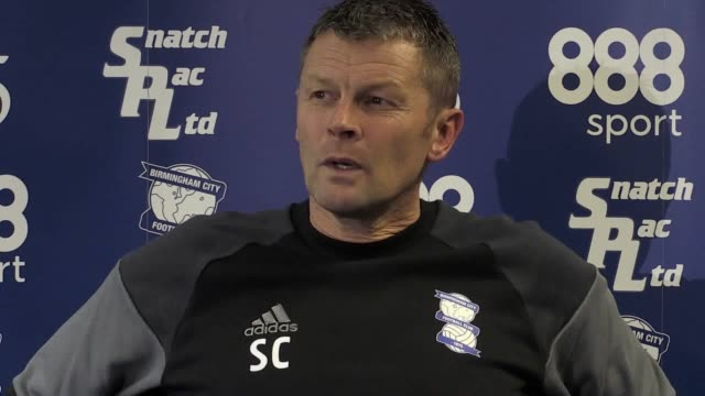 Birmingham manager Steve Cotterill looks ahead to his side's Championship match at home to Nottingham Forest