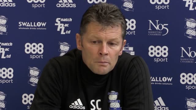 Birmingham manager Steve Cotterill talks to media ahead of his side's Championship trip to Barnsley on Saturday