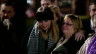 vigil to mark 40th anniversary ENGLAND Birmingham EXT People gathered at candlelight vigil to mark the 40th anniversary of the Birmingham pub...