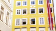 PAN Birthplace of Wolfgang Amadeus Mozart in Salzburg