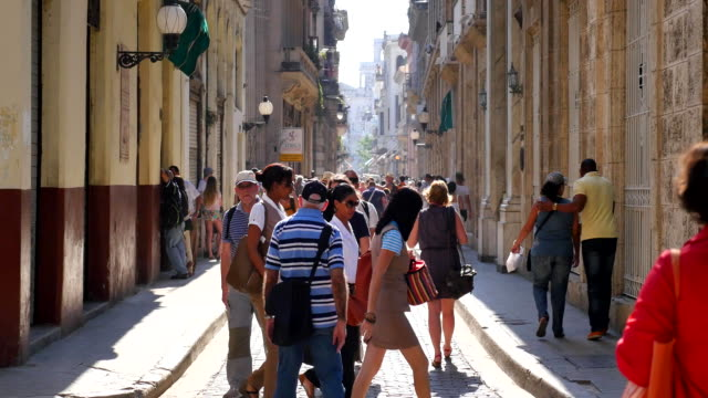 Bishop street, Old Havana, Cuba