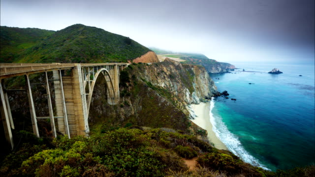 TIME LAPSE: Bixby Creek Bridge