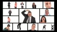HD MONTAGE: Bizarre Business People