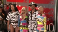 Blac Chyna and Amber Rose at the 2015 MTV Video Music Awards at Microsoft Theater on August 30 2015 in Los Angeles California