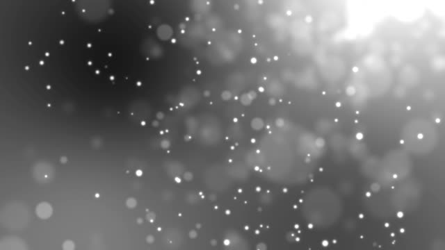 Schwarz / weiß Bokeh des hellen abstrakten Hintergrund