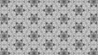 Schwarze und weiße Kaleidoskop