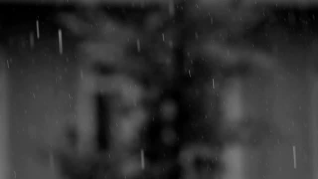zwarte en witte lichte regen achtergrond