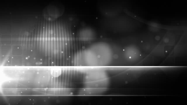 Black and White Loop - Night Glow Silver (Full HD)