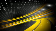 Black and Yellow Abstract Background Loop (Full HD)