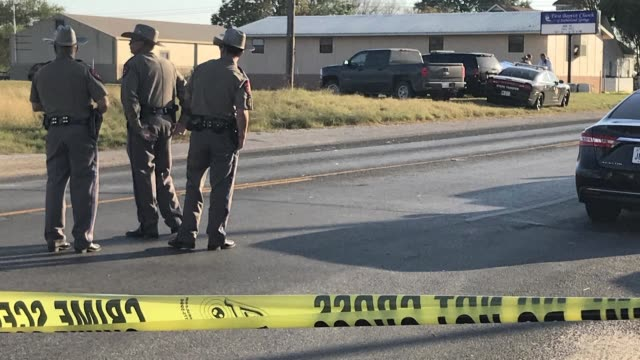 A black clad gunman armed with an assault rifle opens fire on a small town Texas church during Sunday morning services killing 26 people and wounding...