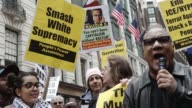 Black Lives Matter Activists gathered Herald Square – 34th Street and held an Anti Donald Trump and an Anti New York City Mayor Bill de Blasio...